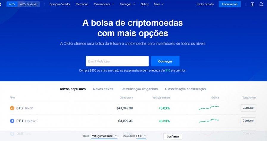 Review Okaex Exchange
